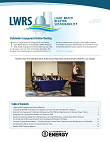 Light Water Reactor Sustainability Newsletter – Issue 28, March 2019